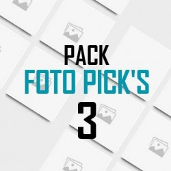 Foto pick's 3 unidades