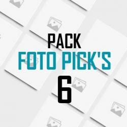 Foto pick's 6 unidades