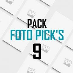Foto pick's 9 unidades
